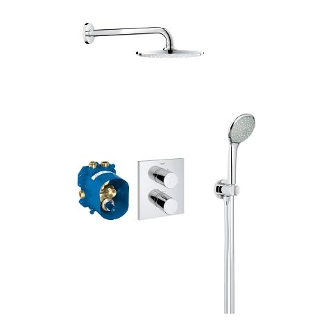 Perfect shower set with Rainshower 210