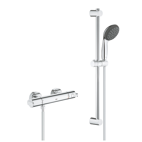 Thermostatic shower mixer 3/4″