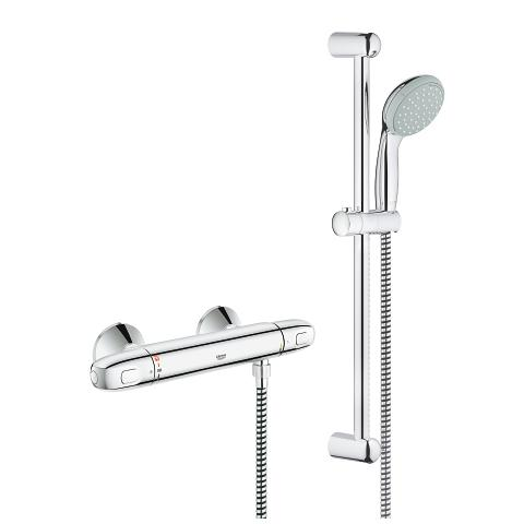 Thermostatic shower mixer 1/2″ with shower set