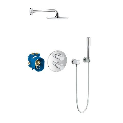 Perfect shower set with Rainshower Cosmopolitan 210