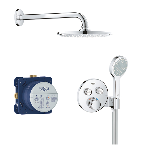 Grohtherm SmartControl Perfect shower set