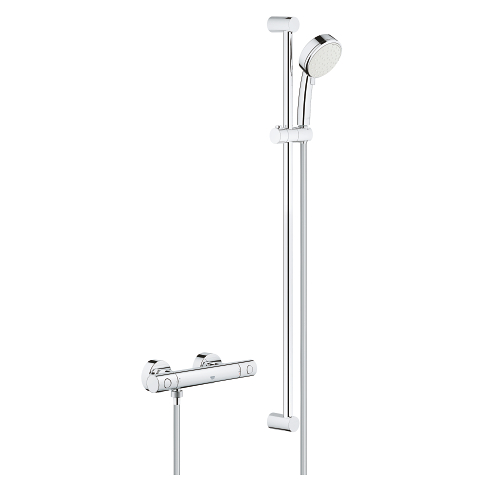 Thermostatic shower set 1/2″