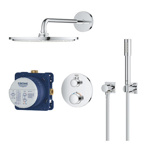 Grohtherm Perfect shower set with Rainshower Cosmopolitan 310