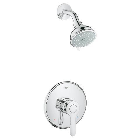 Pressure Balance Valve Shower combination