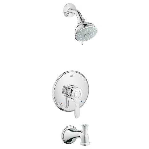 Parkfield Pressure Balance Valve Shower combination