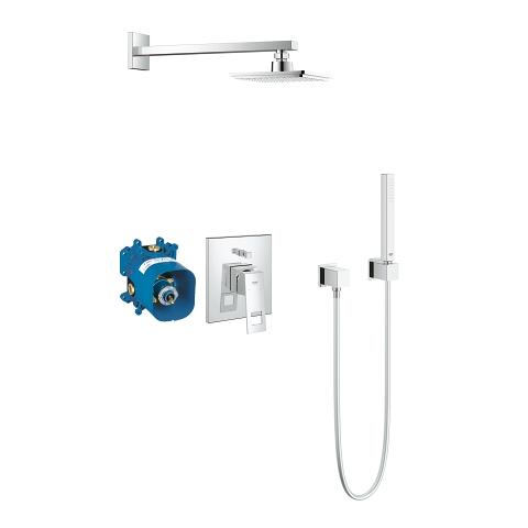 GROHE Rapido E Universal single-lever mixer for concealed installation