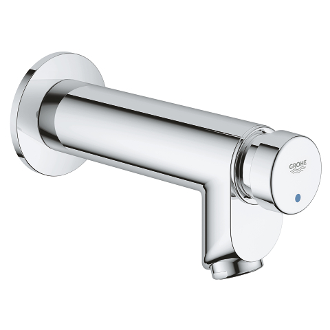 Euroeco Cosmopolitan T Self-closing pillar tap 1/2″, wall mounted