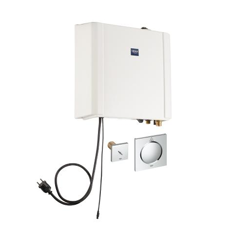 Steam generator 2.2 kW with steam outlet and temperature sensor