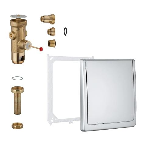 Flush valve for WC