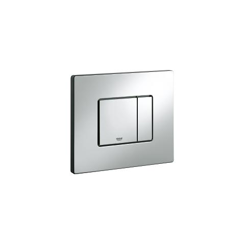 Top plate with push button