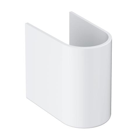 Euro Ceramic Semi pedestal for wash basin 39230,39335 and 39336