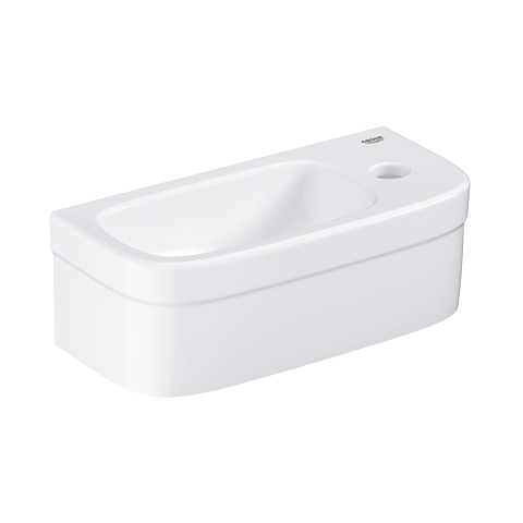 Euro Ceramic Mini hand rinse basin with PureGuard