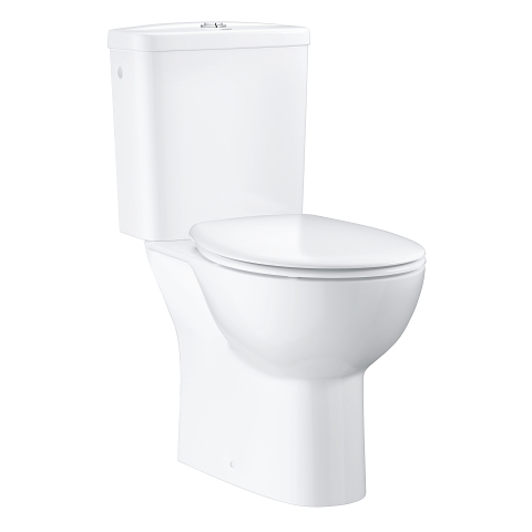 Bau Ceramic Bundle close coupled WC