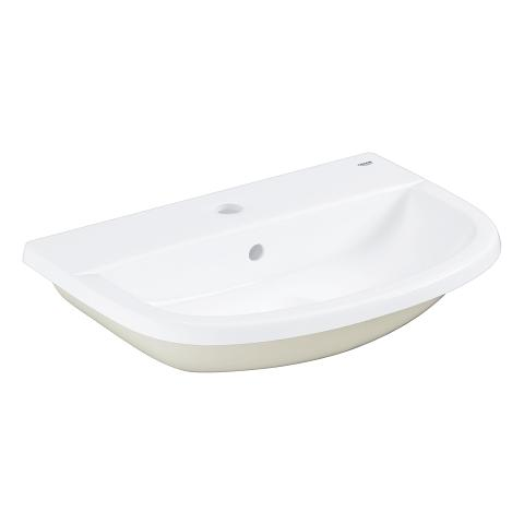 Bau Ceramic Counter Drop-in basin 55