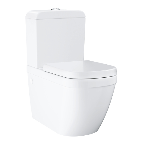 Euro Ceramic Floor standing 2 piece WC with PureGuard