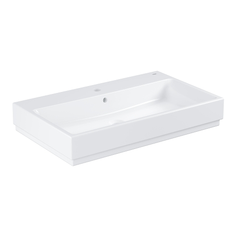 Cube Ceramic Counter top basin 80