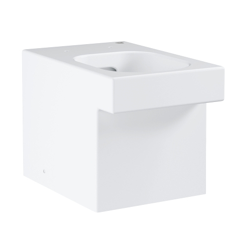 Cube Ceramic Floor standing back to wall WC