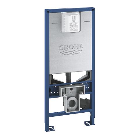 Rapid SLX Element for WC, 1.13 m installation height with integrated socket and shower toilet connection