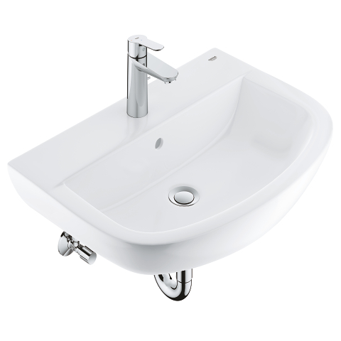 Bundle wash basin 55 + BauEdge basin mixer
