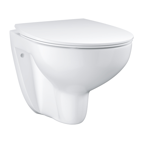 Wall hung WC set slim