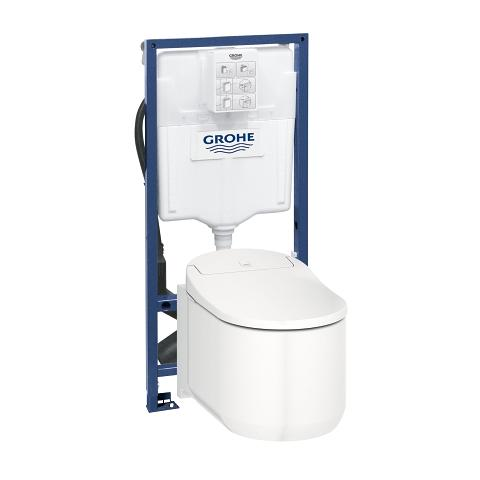 高仪 赛雅 雅瑞娜 Shower toilet complete system for concealed flushing cisterns, wall-hung