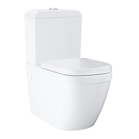 Euro Ceramic Floor standing WC for close coupled combination