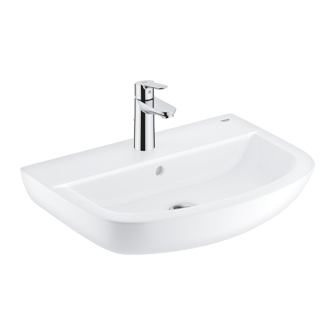 Bau Ceramic Bundle wash basin 55 + Start Edge single-lever basin mixer