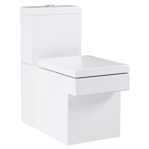 Cube Ceramic Floor standing WC for close coupled combination