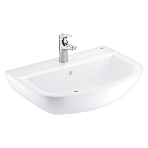 Bau Ceramic Bundle wash basin 60 + BauFlow basin mixer