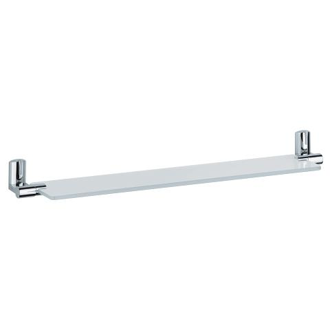 Ectos Satin glass shelf 600 mm