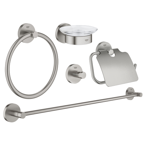 Set accessori bagno 5-in-1