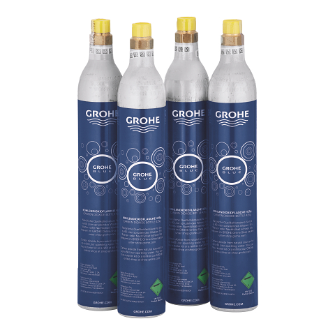 Starter kit 425 g CO2 bottles (4 pieces)