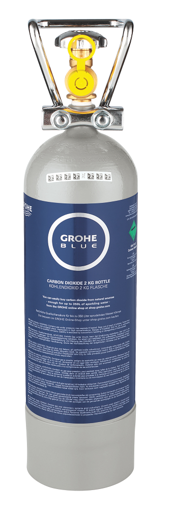 grohe blue starterset 2 kg co2 flasche sp le k che family friends grohe shop germany. Black Bedroom Furniture Sets. Home Design Ideas