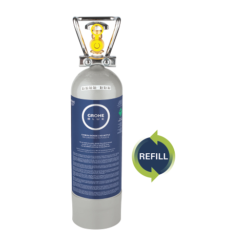 Refill 2 kg CO2 bottle