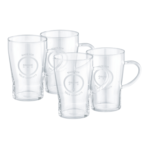 GROHE Red Tea glasses (4 pieces)