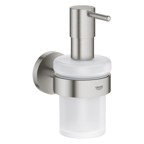 Essentials Soap dispenser with holder