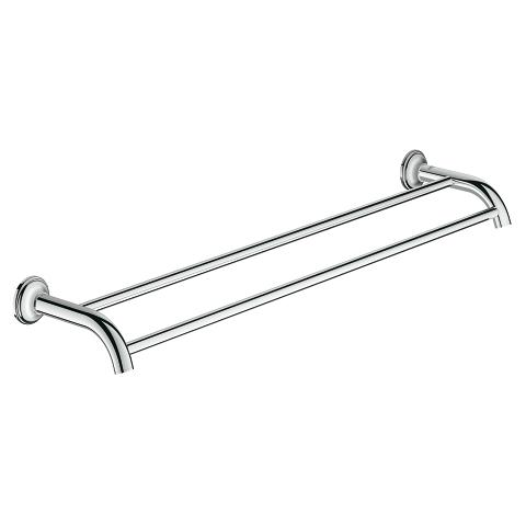 Essentials Authentic Double towel rail
