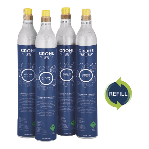 Refill 425 g CO2 bottles (4 pieces)
