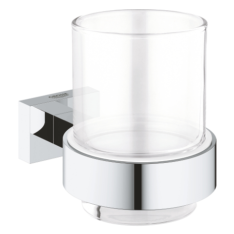 Essentials Cube Verre en cristal avec support