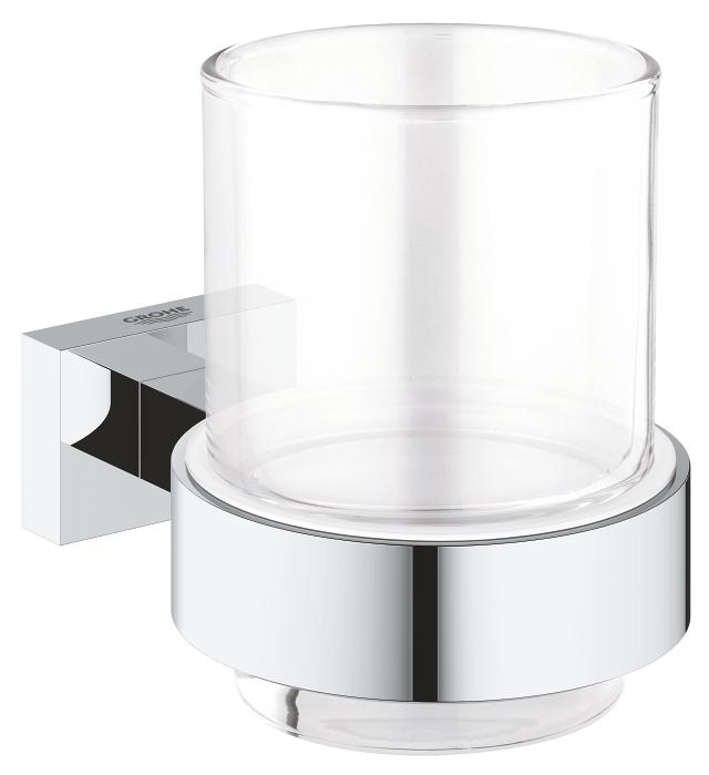 Essentials Cube Glas met houder