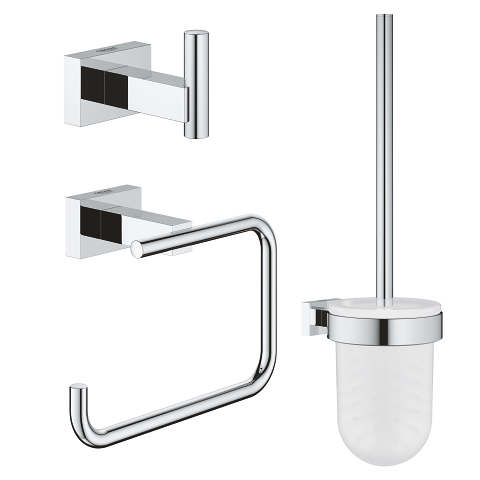City restroom accessories set 3-in-1