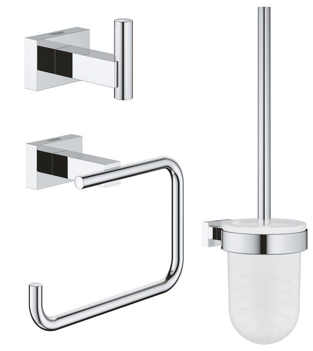 Essentials Cube 3-in-1 WC set