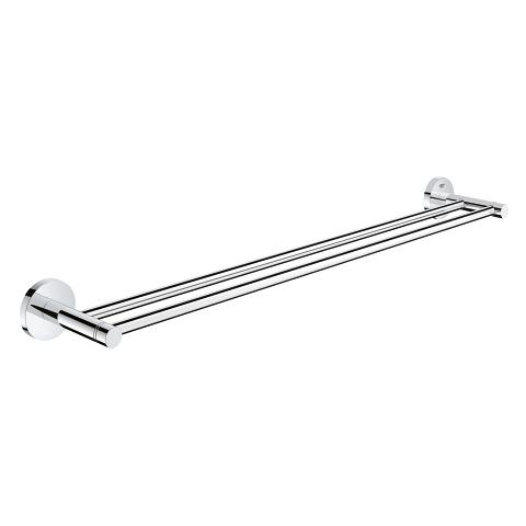Essentials Double towel rail