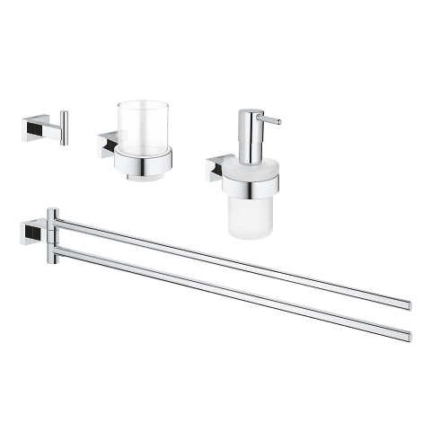Bathroom accessories set 4-in-1
