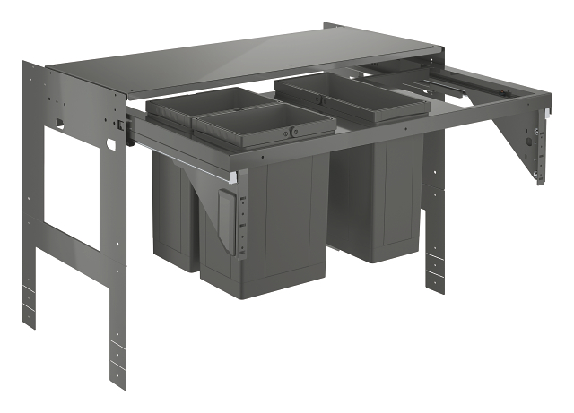 GROHE Blue Waste separation system 90 cm - 8 l / 8 l / 11 l