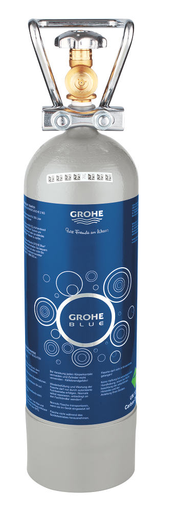 GROHE Blue Starterset 2 kg CO<sub>2</sub> Flasche