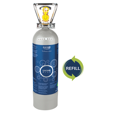 GROHE Blue Hervulfles 2 kg CO2