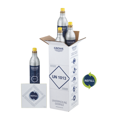 GROHE Blue Botellas de recarga 425 g CO2 (4 piezas)