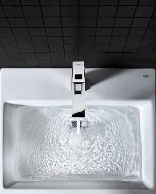 cube ceramic grohe. Black Bedroom Furniture Sets. Home Design Ideas