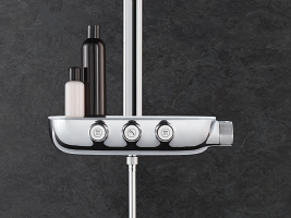 smartcontrol combi shower system grohe. Black Bedroom Furniture Sets. Home Design Ideas